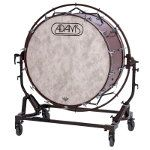 Adams Concert Bass Drum (Various) with Free Suspended' Stand