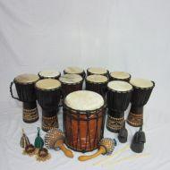 GW African Djembe Ensemble Package