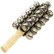 Dixon  25 Large Bell Sleigh Bells wooden handle