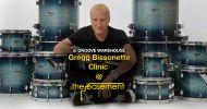 Gregg Bissonette Drum Clinic @ The Basement (Student) Aug 24