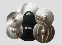 Groove Warehouse Hush Series Low Volume 5pc Cymbal Pack