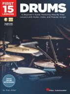 First 15 Lessons - Drums