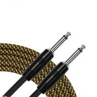 Kirlin 20ft Woven Tweed Guitar Cable