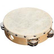 Tambourine w/skin (various) wooden frame