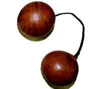 Asalato Kis Kas African Two Ball Shaker