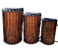 SWP African Dun Dun Set of Three Drums