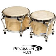 Bongo Drums Wooden Staved Tuneable (7.5 and 8.5 inch)