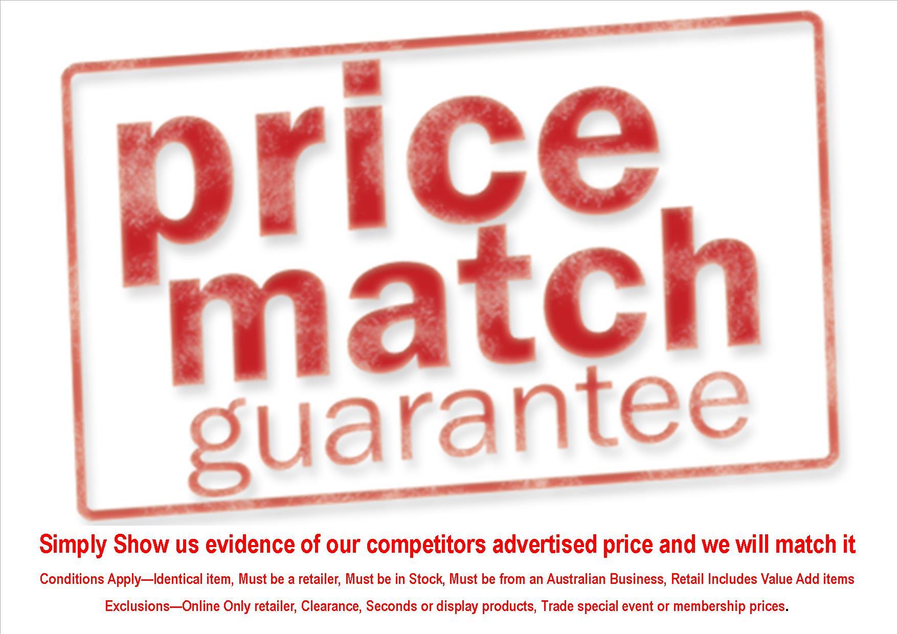 We Match Price